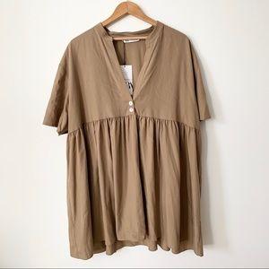 Tunic Dress // ZARA